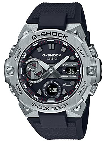 Casio G-Shock By Men's GSTB400-1A Digital Watch Silver