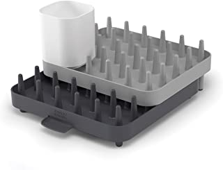 Joseph Joseph 85035 Connect Adjustable 3-Piece Dishrack - Grey