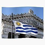 Heeled America South White Blue Uru Republic National