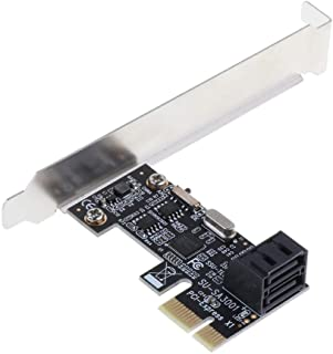 Gazechimp Adaptador De Tarjeta De Expansi/ón PCI-E A 2 Puertos Dual USB 3.0 PCI Express 5Gbps 19-Pin