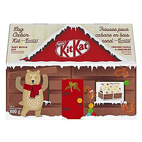 NESTLÉ KITKAT Christmas Log Cabin Kit 800g/28.2oz {Imported From Canada}