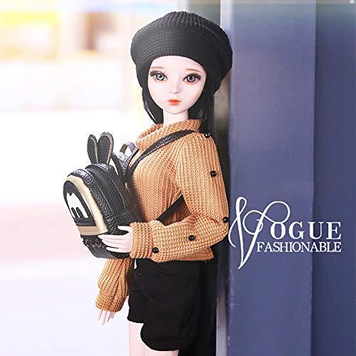 XMQW Bjd Doll Set Bambola 1/3 SD Femminile 26 Giunto a Sfera con la Tuta Intera per età 7 And Up Child Regalo di Compleanno Natale Halloween Regalo del Ringraziamento