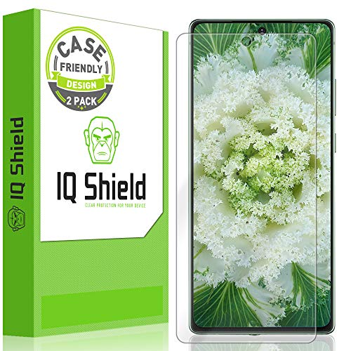 IQShield LiquidSkin Note 20 /Note 20 Ultra Screen Protectors Case Friendly 99¢ w/ Lifetime Replacement