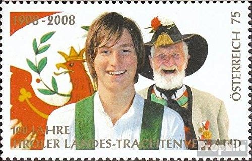 Oostenrijk Mi.-Aantal.: 2728 (compleet.Kwestie.) 2008 Tiroler Landestrachtenverband (Postzegels voor verzamelaars) Uniformen/kostuums