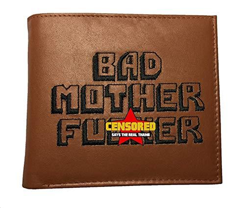 BMF Wallet Men's Original Bi-fold Embroidered...