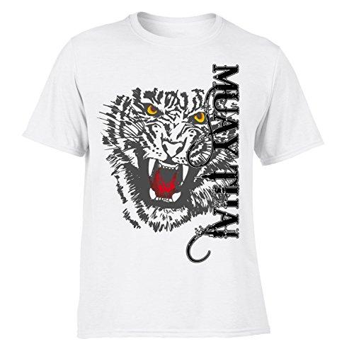 Pro Design Muay Thai Tiger Kick Boxeo Camisetas de Combate Entrenamiento/Casual MMA SP