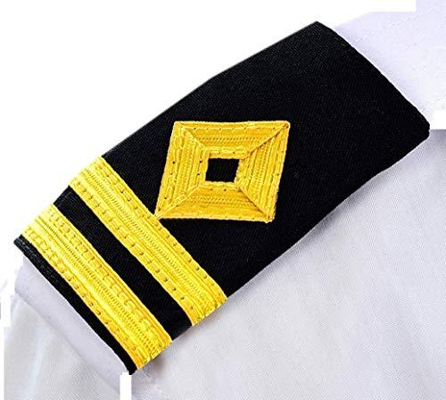 Ocean Kart Professional Epaulettes for Second Officer Merchant Navy Officer