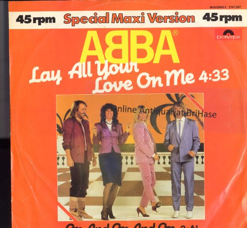 ABBA ?- Lay All Your Love On Me Vinyl, 12