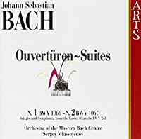 Overtures & Suites 1 & 2 by ORCHESTRA OF THE MOSCOW BACH CENTER (1996-12-17)