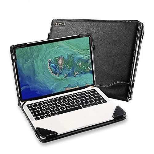Funda Carcasa para Lenovo ThinkBook 13s/ThinkPad X395/ThinkPad X390 Yoga 13' Bolsa de Ordenador Portátil Manga de Negocios Soporte PC Funda de Piel Protectora