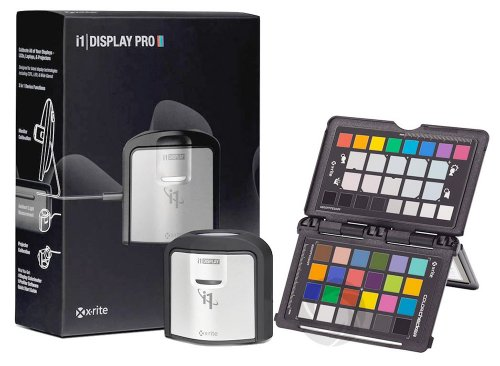 X-Rite i1 Display Pro and ColorChecker Passport Bundle - Black (EODIS3CCPP)
