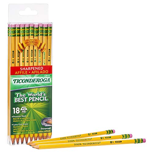 TICONDEROGA Pencils, Wood-Cased,...