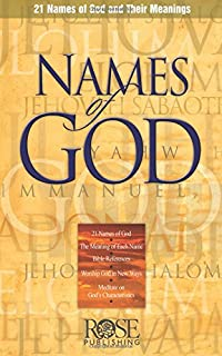 Names of God pamphlet: 21 Names of God and Their Meanings