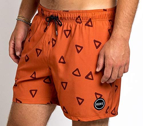 Kove Ziggy Swim Trunks Recylced Men's Quick Dry 4 Way Stretch 16″ Swimsuit