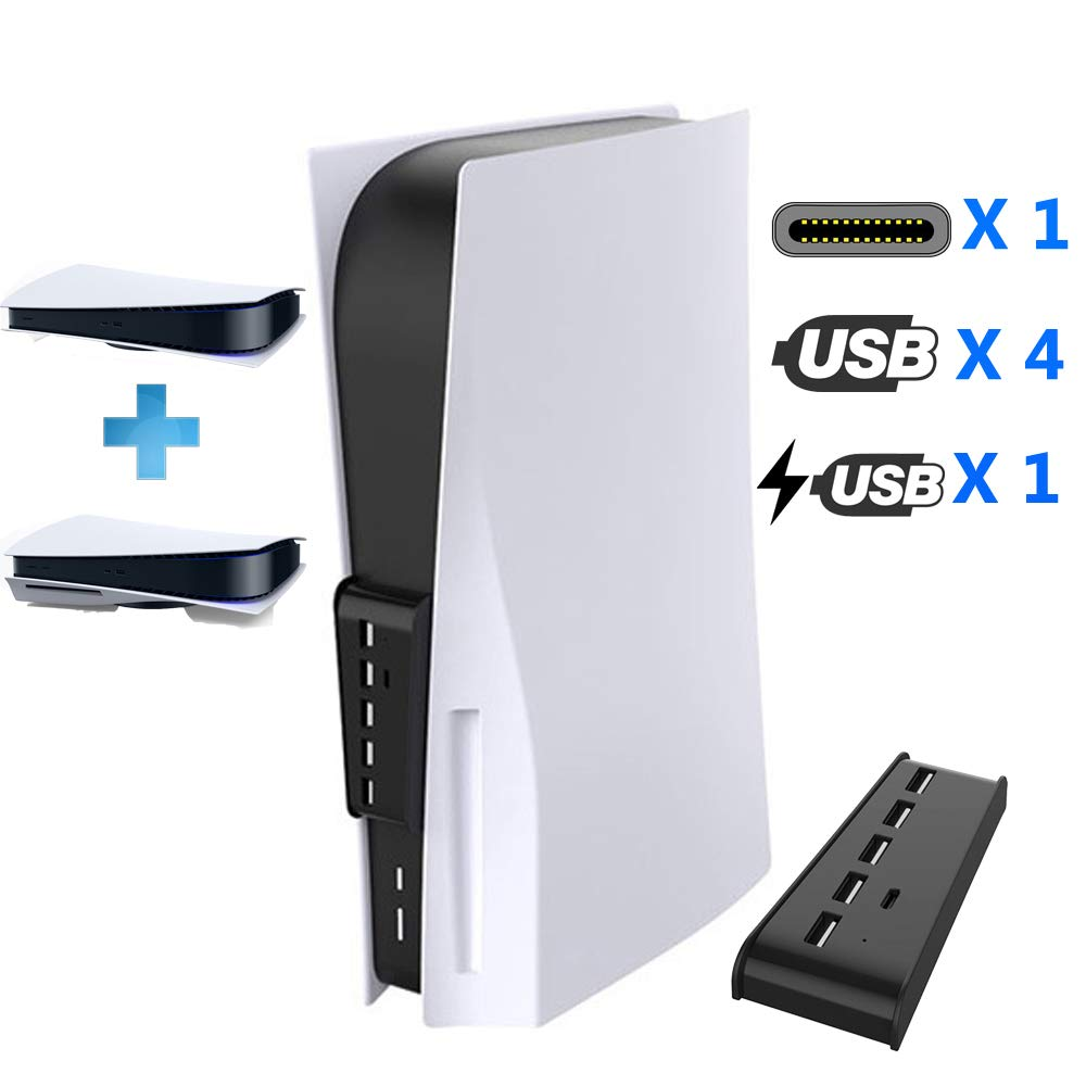 PS5 Gaming Console SALENEW very popular Hub Max 43% OFF 4 Charging 1 Port USB Typ