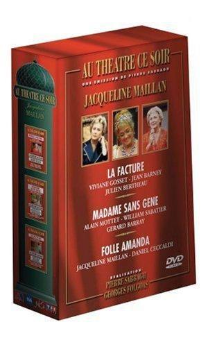 Le coffret DVD Jacqueline Maillan Au théâtre ce soir