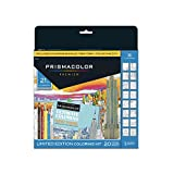 Prismacolor Premier Soft Core Pencils Adult Coloring Book Kit,...