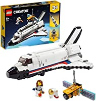LEGO 31117 Creator 3-in-1 Space Shuttle Adventure to Rocket Toy and Lunar Lander Vehicles Building Set for Kids