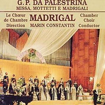 Missa, Mottetti e Madrigali