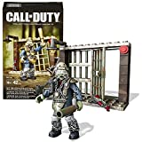 Year 2015 Mega Blok Call of Duty Series Micro Figure CNN66 - Brutus The Zombie with Armor, Ray Gun, Club & Prison Cell (Total Pieces: 42)