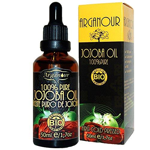 Arganour Jojoba Oil 100% Pure Aceite Corporal - 50 ml