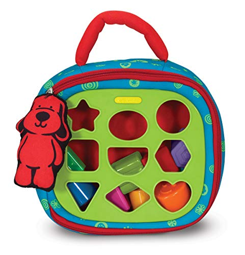 Melissa and Doug Take-Along Shape-Sorter Baby and  Toddler Toy