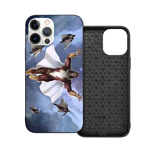 Ungerechtigkeit Götter unter Uns Shazam ip12 Pro-6.1 Case kompatibel mit iPhone 12 / Mini/Pro/Max/Case mit Muster Slim Protective Soft TPU 3D Uv Print Design