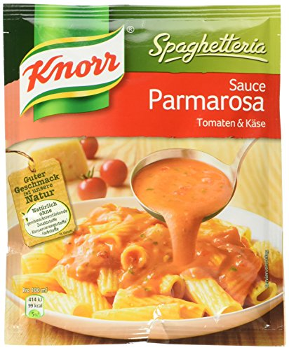 Knorr Spaghetteria Parmarosa, 20er Pack (20 x 250 ml Beutel)