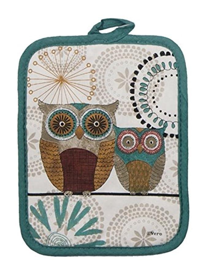 Kay Dee Designs Spice Road Owl Potholder