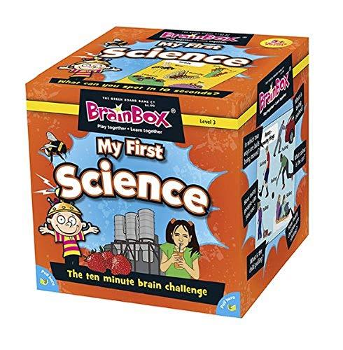 Brain Box- Juego Mi Primera Ciencia Ingles, Multicolor (BrainBox G0990040)