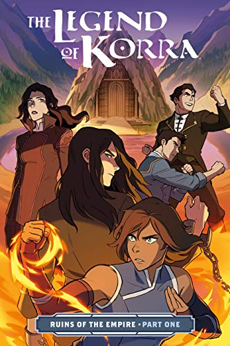 The Legend of Korra: Ruins of the Empire Part One (English Edition)
