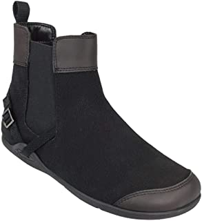Xero Shoes Vienna - Women's Canvas Ankle Boots - Barefoot Inspired Minimalist Zero Drop Chelsea Style Boot