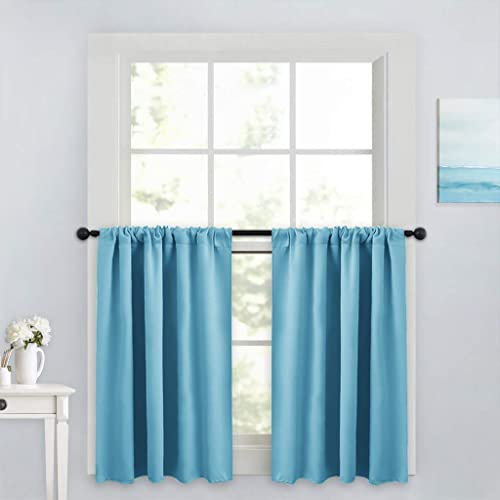 Double Window Kitchen Curtains