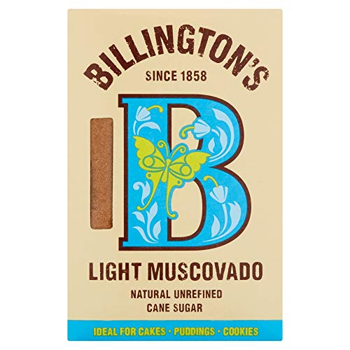 Billington's Natural Light Muscovado Unrefined Cane Sugar 500g