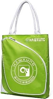 Bolsas de Almacenamiento Verdes y Negras Bolsa de Raqueta de bádminton Bolsa de Tenis portátil para Deportes al Aire Libre