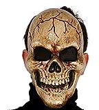Máscara de calavera de pvc oscuro