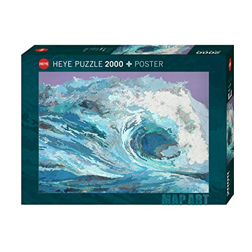 Map Wave Puzzle: 2000 Teile