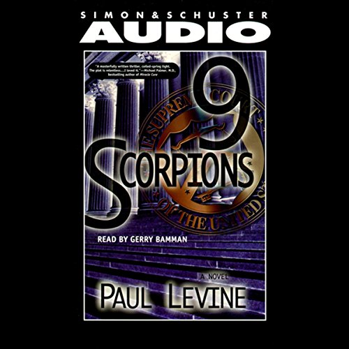 9 Scorpions audiobook cover art