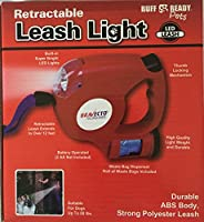 Ruff & Ready Retractable Leash with Light by Ruff & Ready