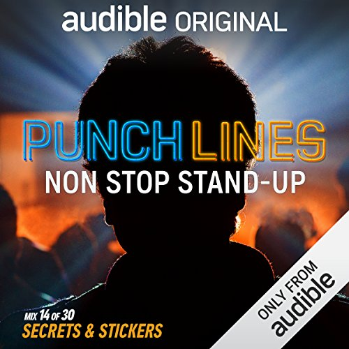 Ep. 14: Secrets & Stickers (Punchlines) audiobook cover art