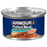 Amour Star Potted Meat, Canned Meat, 3 OZ
