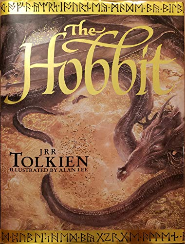 The Hobbit (Illustrated Edition)- By J.R.R. Tolkien (Author) & Alan Lee (Illustrator)