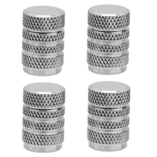 4 unids aleación de aluminio de la rueda de la rueda de la rueda de la rueda de la rueda de los automóviles universal automóviles de la válvula metálica de la válvula de metal de la válvula del neumát