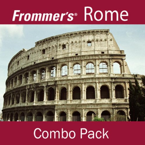 Frommer's Rome Combo Pack audiobook cover art
