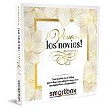 Smartbox - Caja Regalo Amor para Parejas - ¡Vivan los Novios! Exclusivo - Ideas Regalos Originales - 2 Noches con desayunos y 1 Cena para 2 Personas