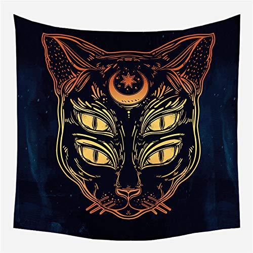 Indio Hippie Tapices Sofas De Salon Tarot Card Adivinación Tapiz Sun Shining Beach Manta Tapestry Decoración De Pared para Dormitorio Sala De Estar 150X130Cm