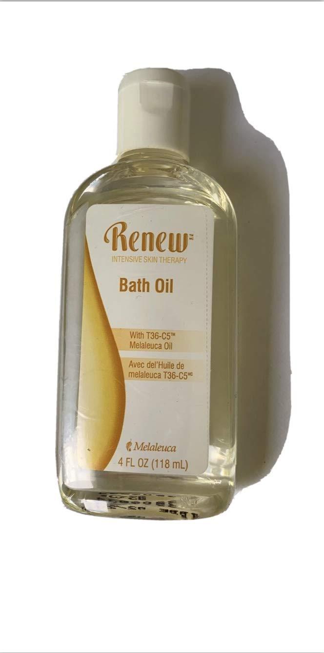 Melaleuca Super sale Renew Intensive Skin Therapy Max 66% OFF 4oz Bath Oil
