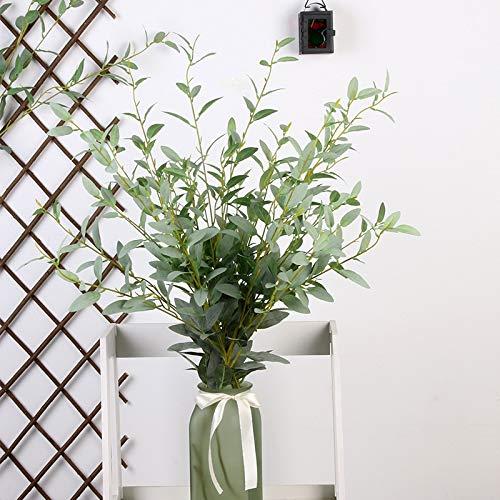 Bureau 10 stks/partij hulst blad zijde bloem kunstbloemen nep plant DIY bruiloft thuis tuin kerstdecoratie gras