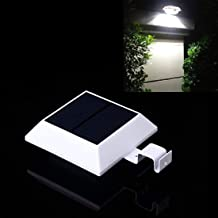 Solar Motion Sensor Light Outdoor 150LM Brighter Design/PIR Sensor Solar Powered Led/Waterproof Durable/Fence Wall Drivewa...