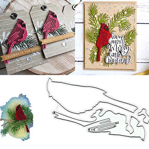 SCmqzmn Little Bird Metal Die Cuts, DIY Scrapbooking Photo Album Decorative Embossing Paper Dies for Card Making Template Die Metal Dies for Paper Crafting & Card Making Embossing